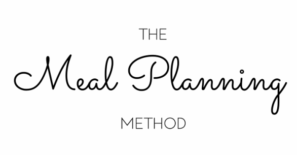 The Meal Planning Method